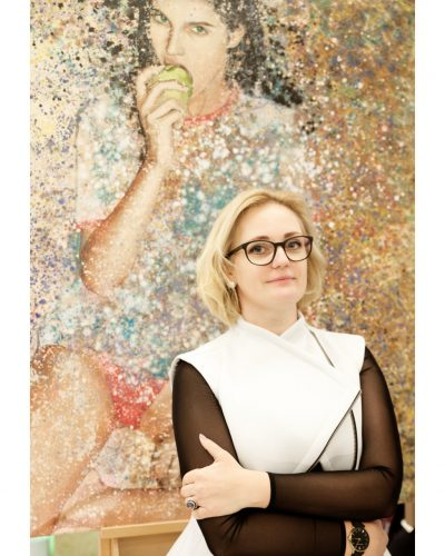 Olga Reiswich, Galeristin