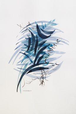Abstrakt 3, 70x50 cm, Mitra Groffman