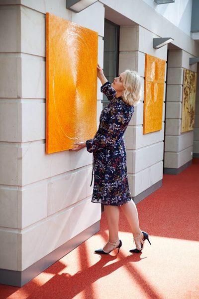 Olga Reiswich, Galerie MoonART